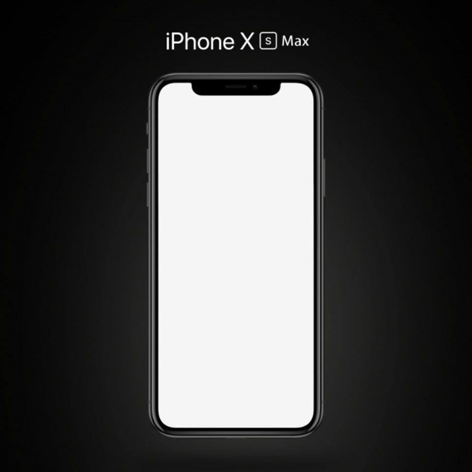 Iphone Xs Max Black Mockup Iphone Max Black Ipad Mockup