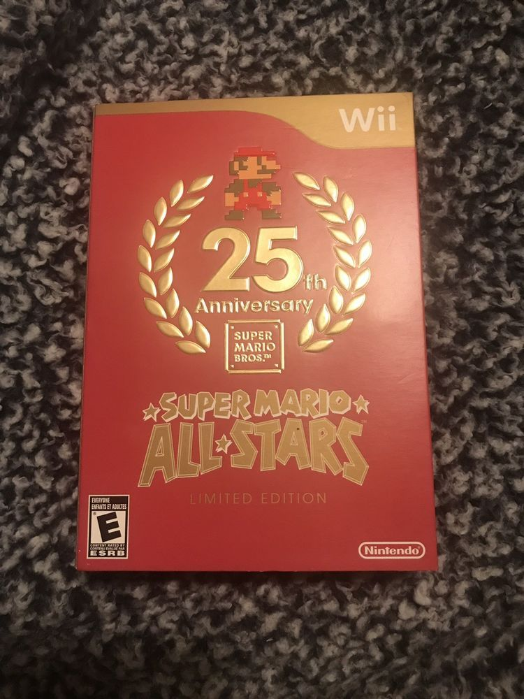 Super Mario All-Stars -- Limited Edition (Nintendo Wii, 2010
