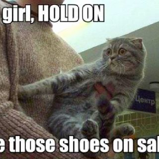Are those shoes on sale??