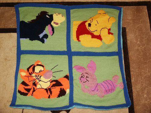 Winnie The Pooh Friends Afghan Pattern By Leisure Arts Crochet