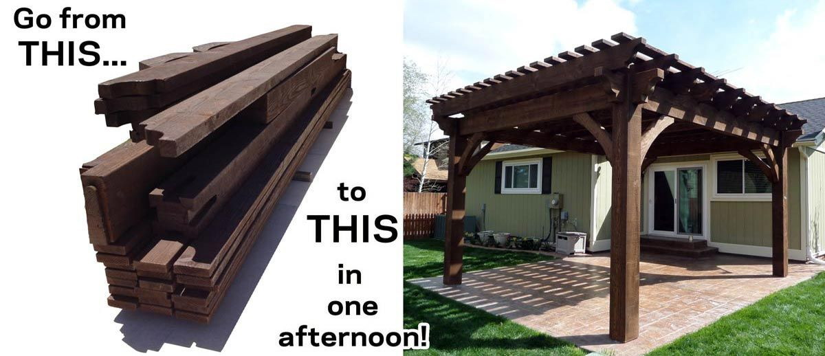 Backyard Gazebo Kits Part - 32: Western Timber Frame--located In Lehi, Does Custom Pergola Work.