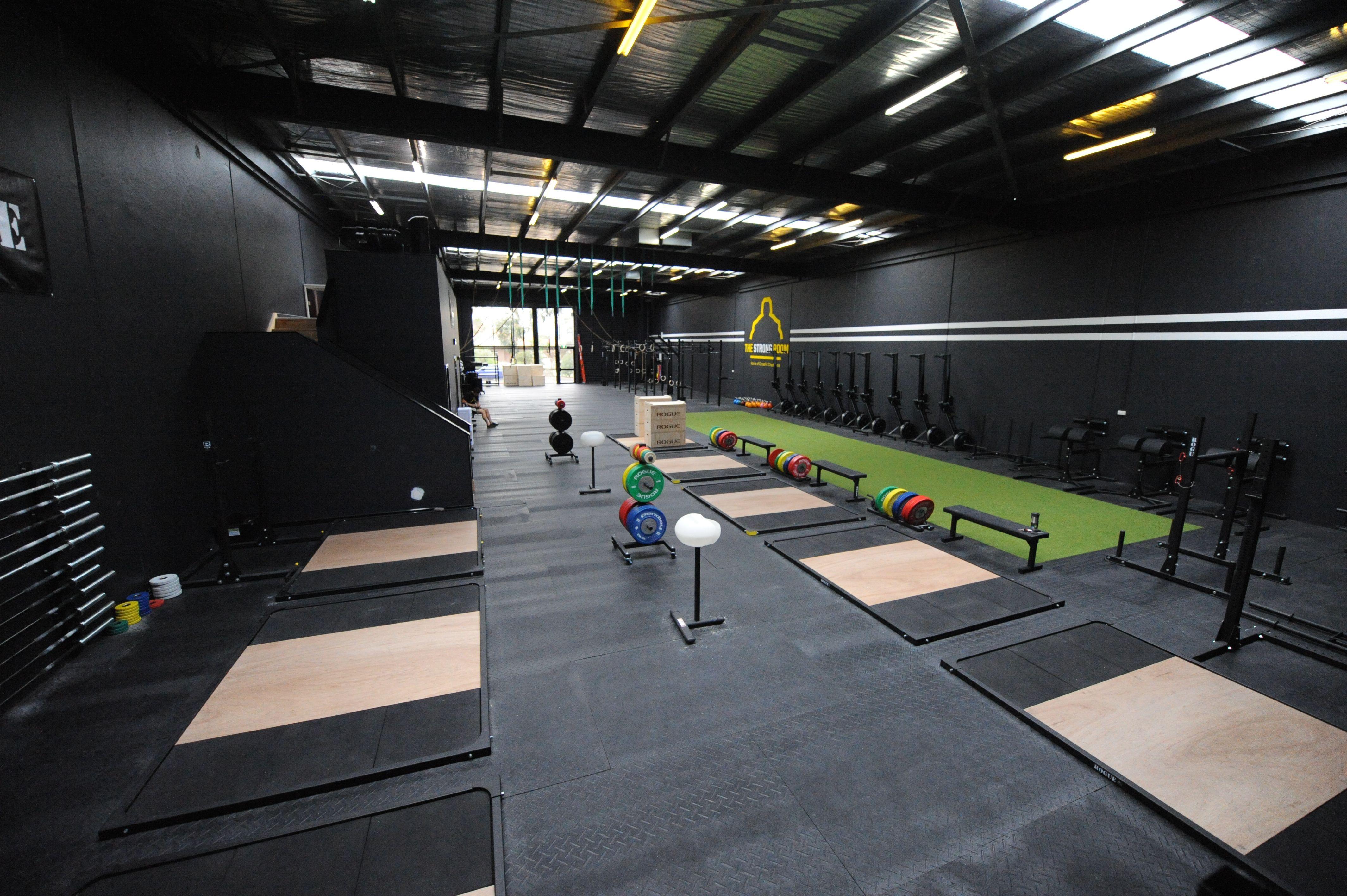 CrossFit Gym Design Ideas