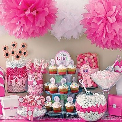 baby shower ideas for girls on a budget organizing a. Black Bedroom Furniture Sets. Home Design Ideas