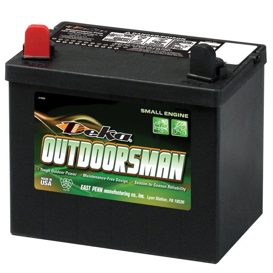 Deka Outdoorsman 12v 300cca Battery Positive Left Storage Life Battery Mower