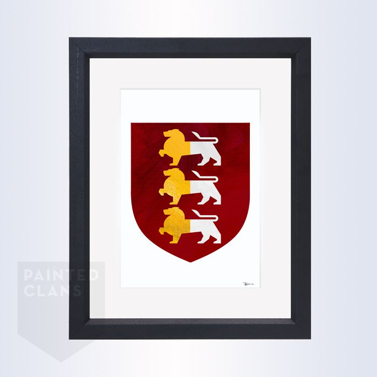 O'Brien Family Crest / O'Brien Coat Of Arms. Buy A
