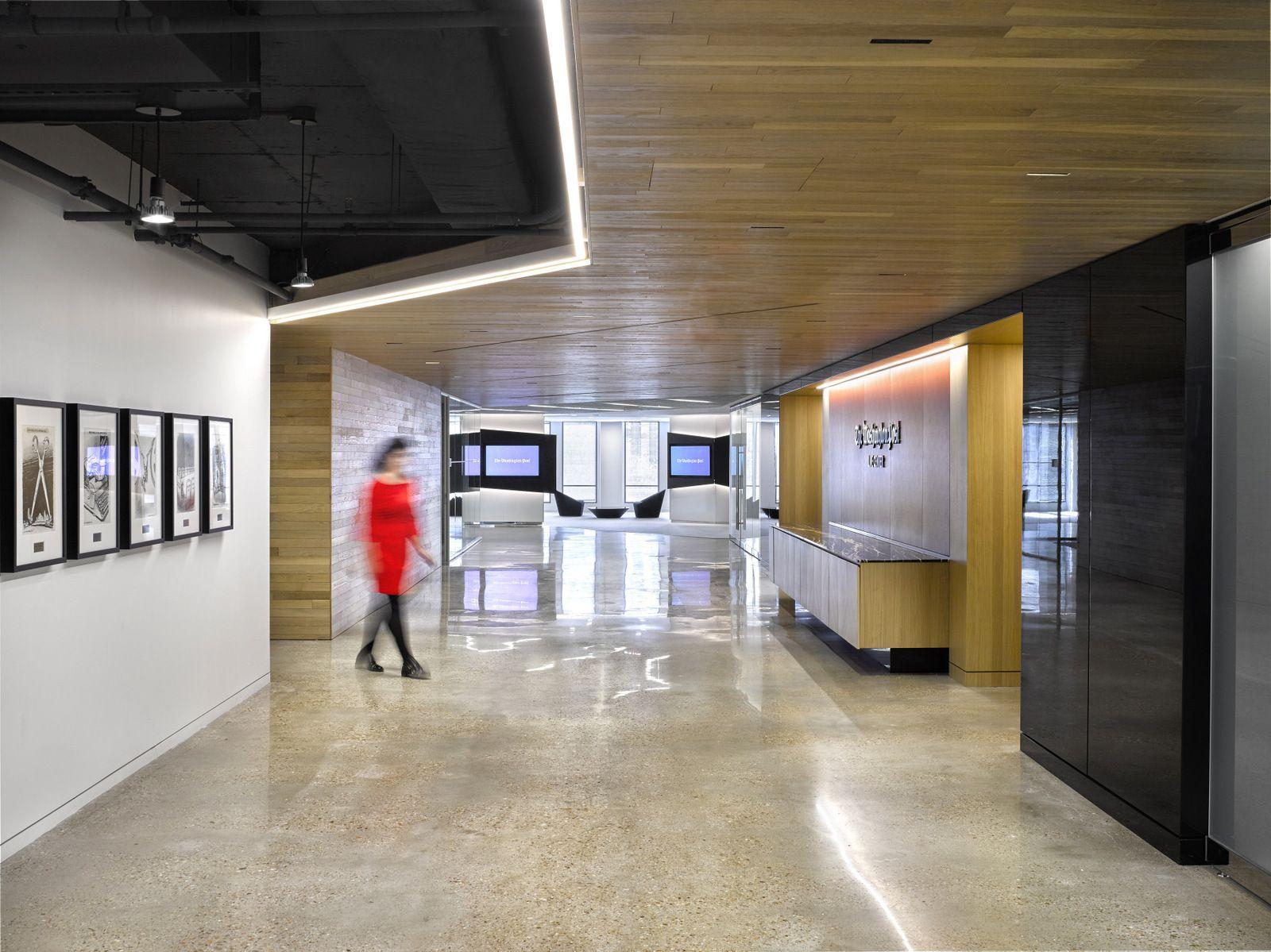 The Washington Post Office By Gensler Office Snapshots Loft Style The Washington Post New Homes