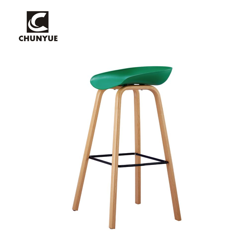 Wholesale Modern Design Pp Plastic High Bar Iron Leg Stool For Cafe Restaurant Find Compl Brewery Furniture Blue Chairs Living Room Fire Pit Table And Chairs