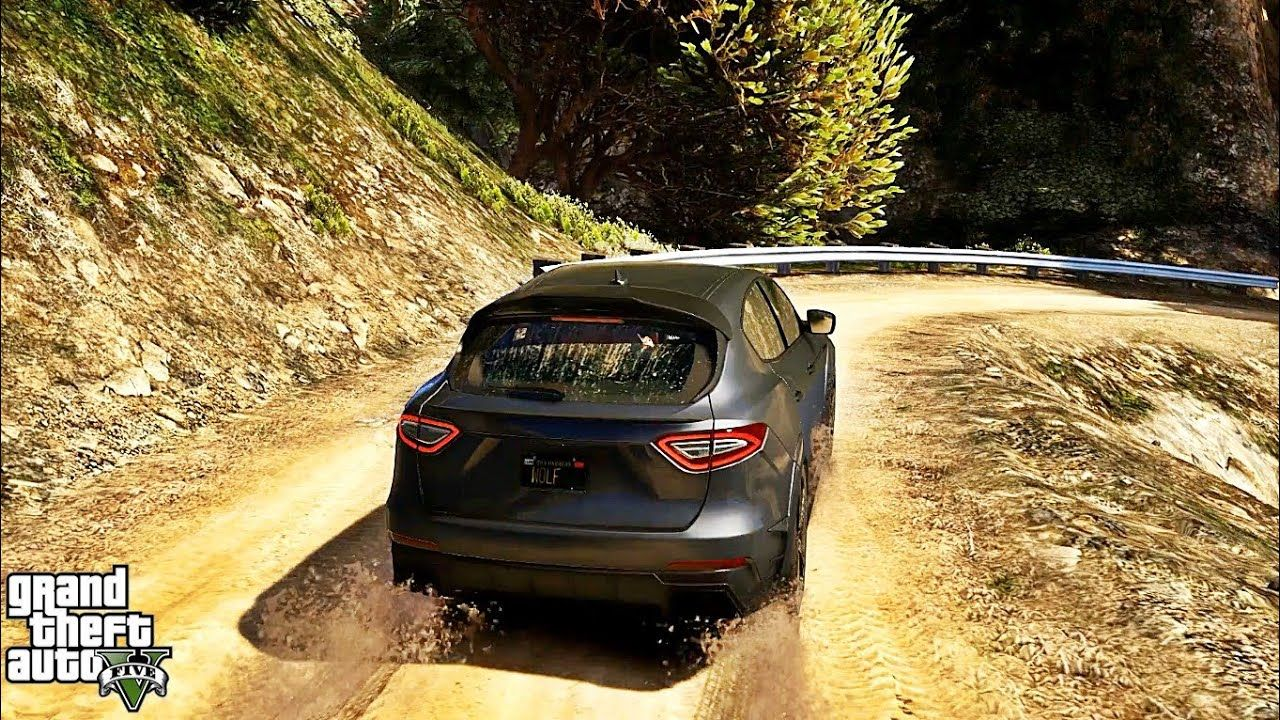GTA MaseratI Levante Mansory NaturalVision Remastered Redux - Guy takes pictures showing just realistic grand theft auto v looks