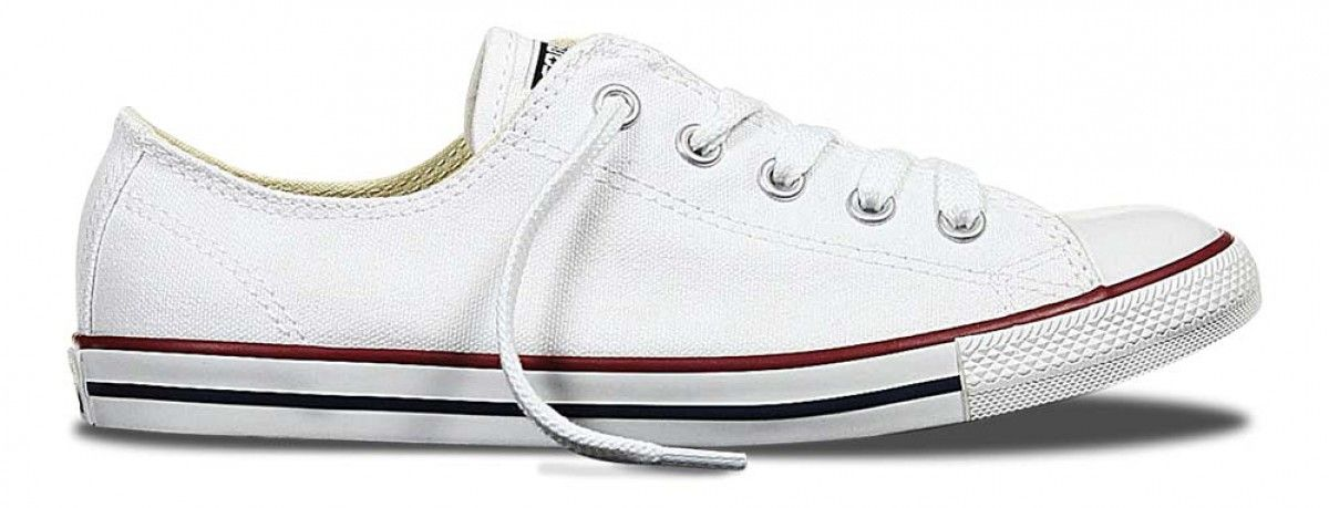5e9929667873 Converse Chuck Taylor Dainty Low Top Optic White