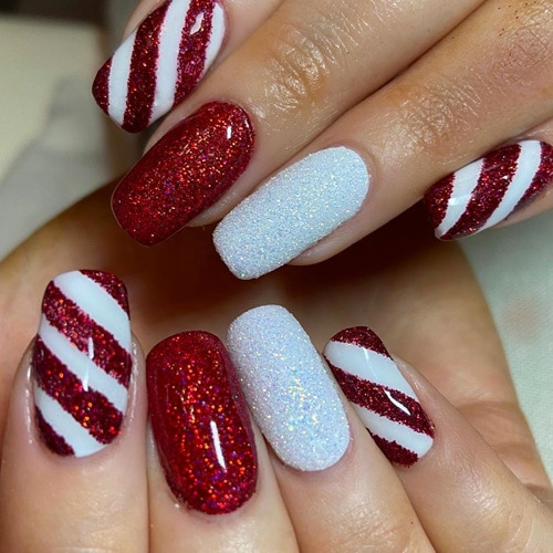 Christmas Nail Art – 40 Best Christmas Nail Art 2020