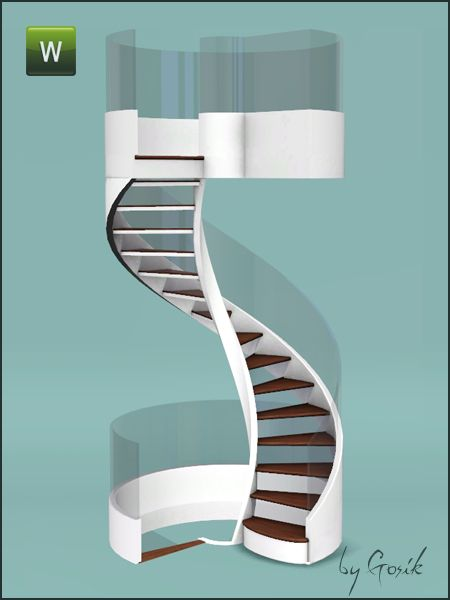 Gosik S Fusion Spiral Stairs And Railings Simspiration
