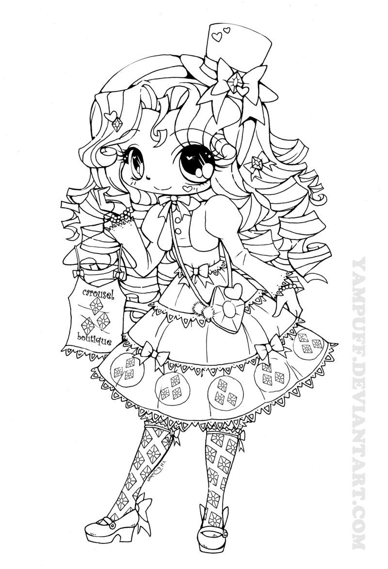 My Little Lolita: Rarity by YamPuff.deviantart.com on @deviantART