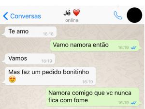 Pedido De Namoro Bonitinho Sem Categoría Pinterest Humor