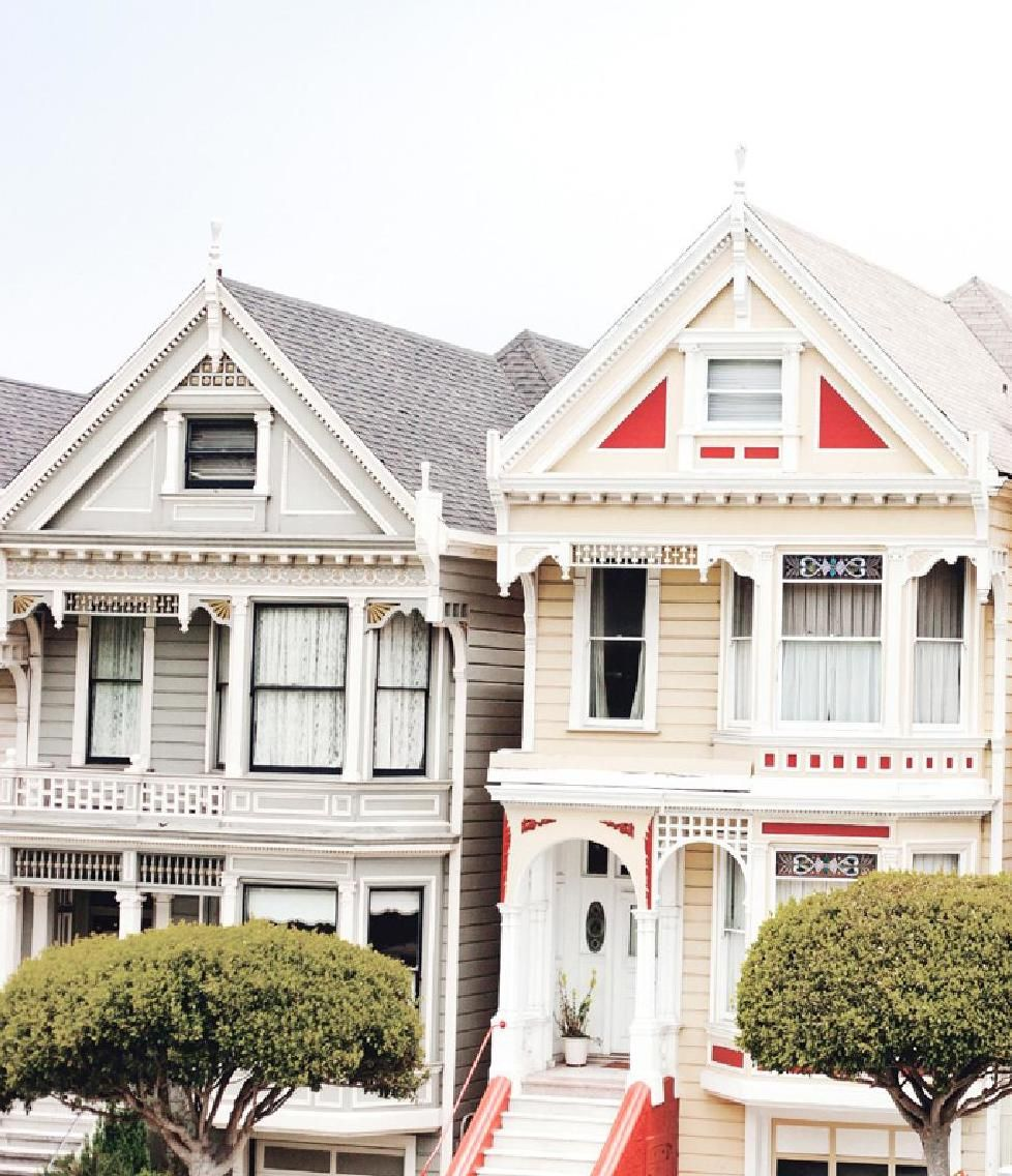 Beautiful Queen Anne houses in San Francisco #ClippedOnIssuu from Sourced Cities San Francisco