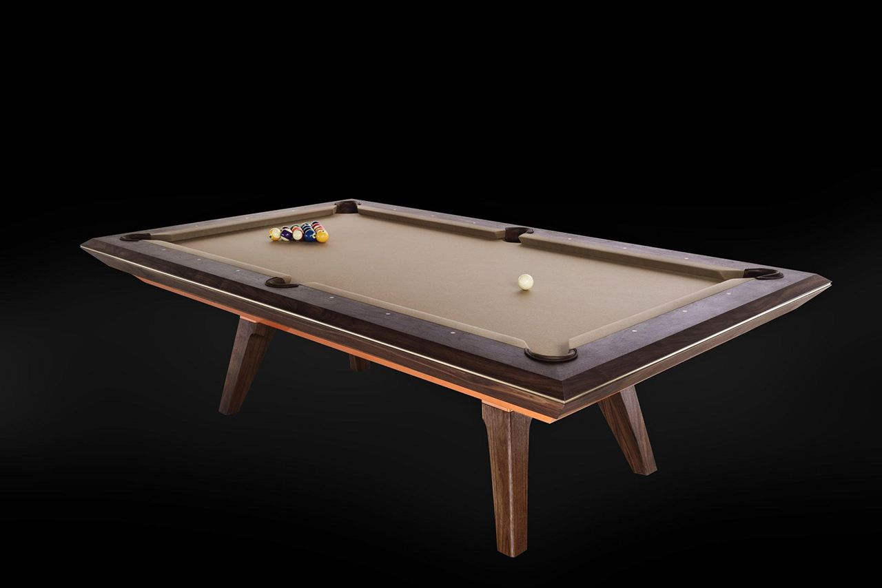 A Modern Pool Table Named Alison Modern Pool Table Pool Table Modern Pools