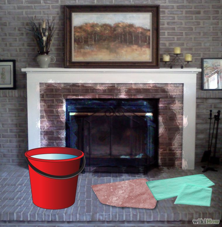 Clean Soot From Brick Cleaning Brick Fireplaces How To Clean