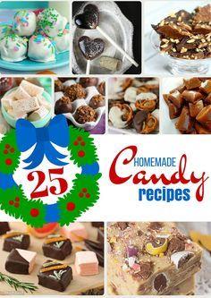 Delicious Homemade Candy Recipes