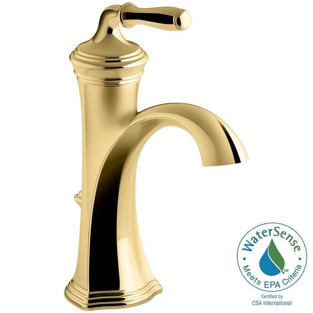 Kohler Devonshire Single Hole Single Handle Water Saving Bathroom