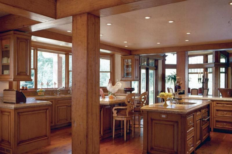 gallery Timber kitchen, Timber frame homes, Timber house