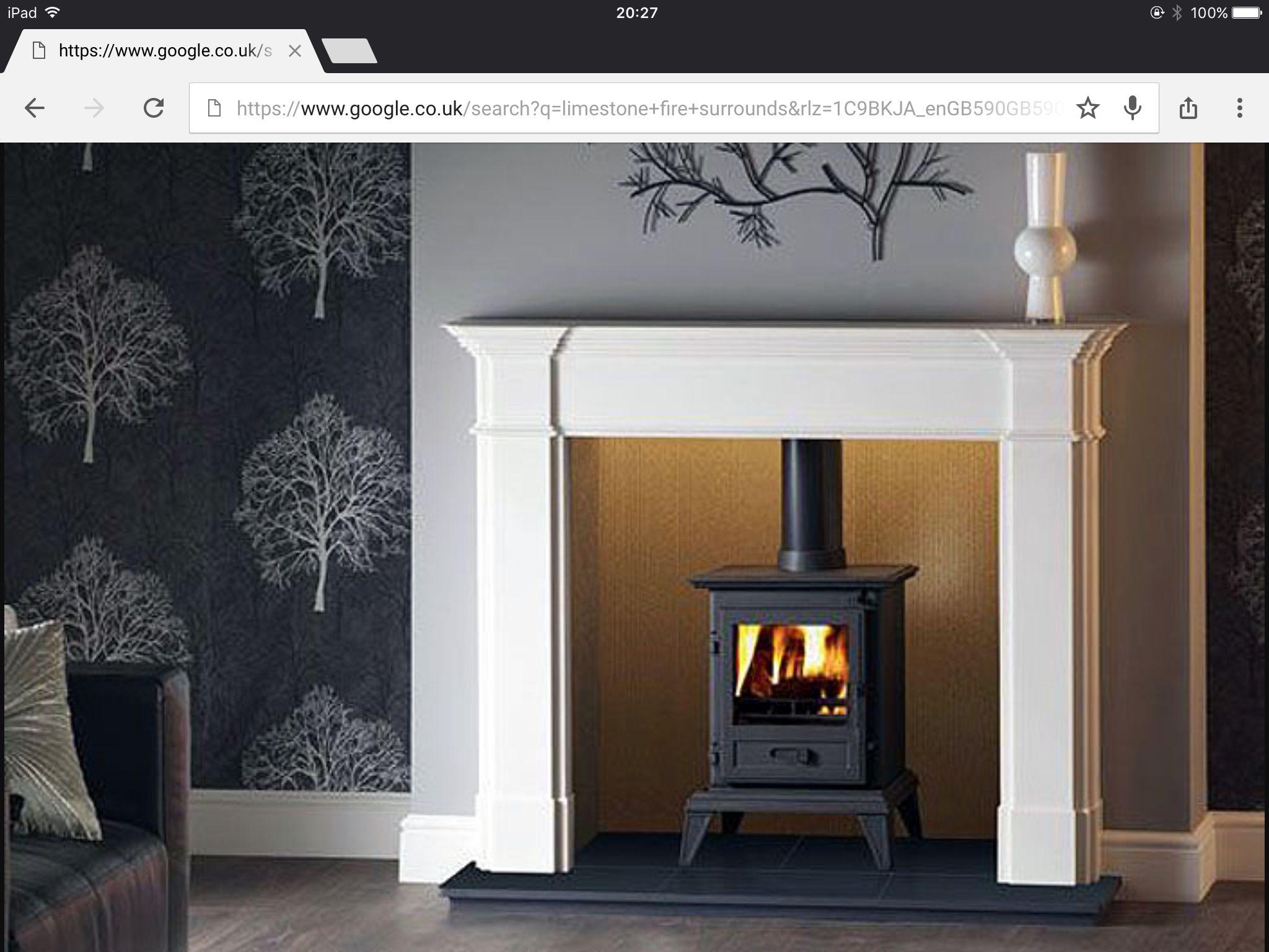 Stone Fireplace SurroundFire SurroundStone FireplacesWood StovesFireplace  IdeasNatural StonesLog BurnerSmokehouseGrand Designs