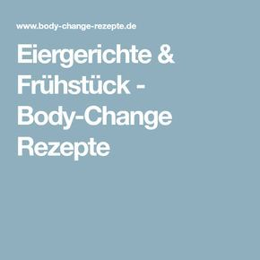 Body Change Frühstück