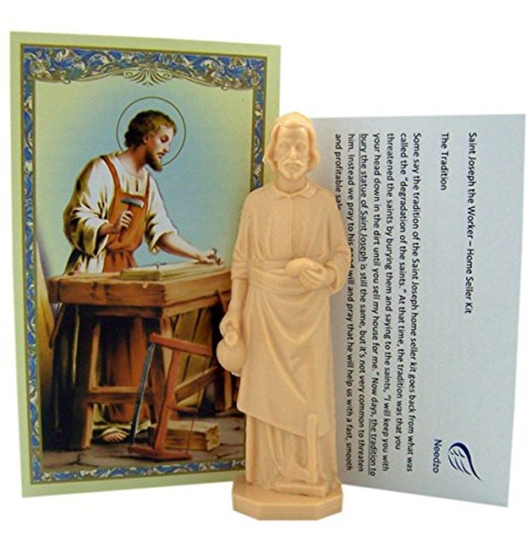 St joseph statue home sale