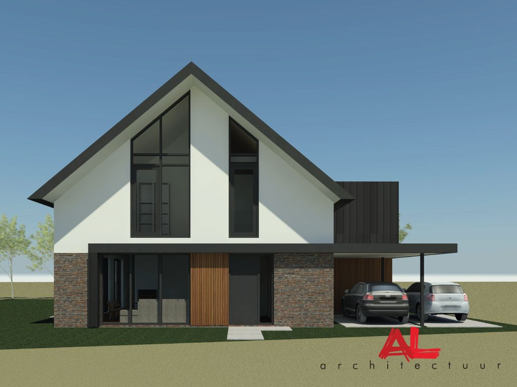 Al architectuur nieuwbouw vrijstaande woning for Nieuwbouw vrijstaande woning