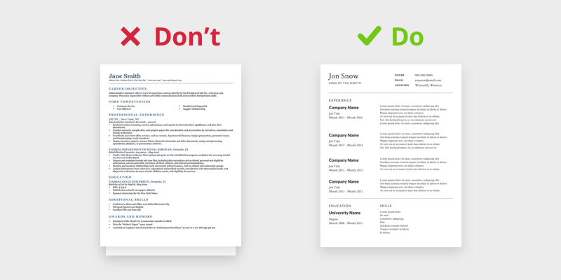 create your own resume for free