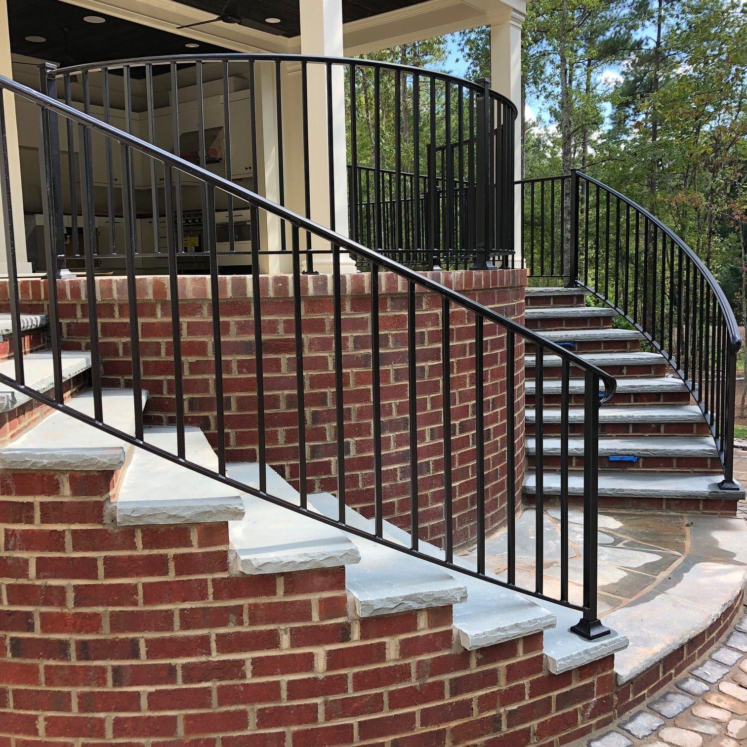 Exterior Residential Iron Railings | Iron railing ...