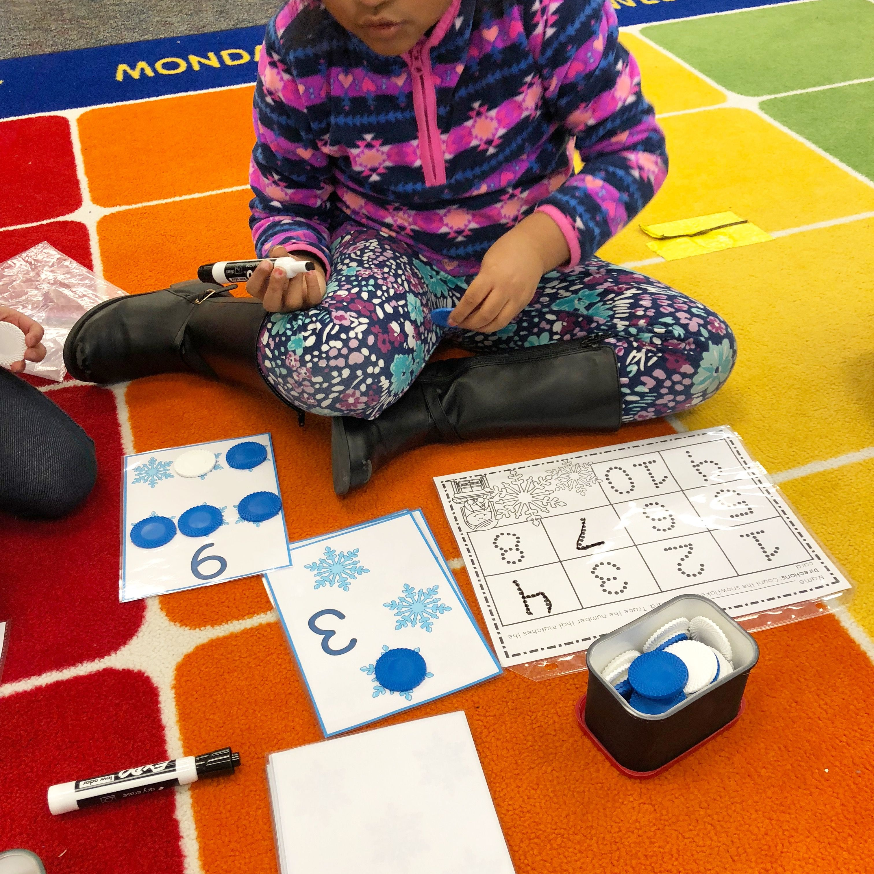 One To One Correspondence Counting With Counters January