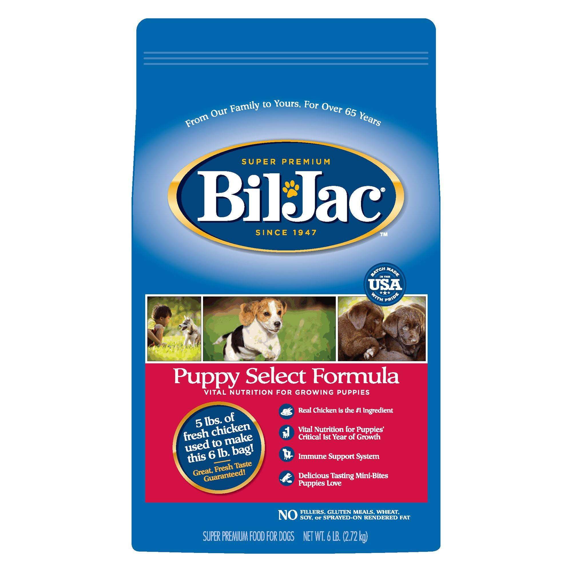 Biljac puppy select formula puppy food puppy food dry