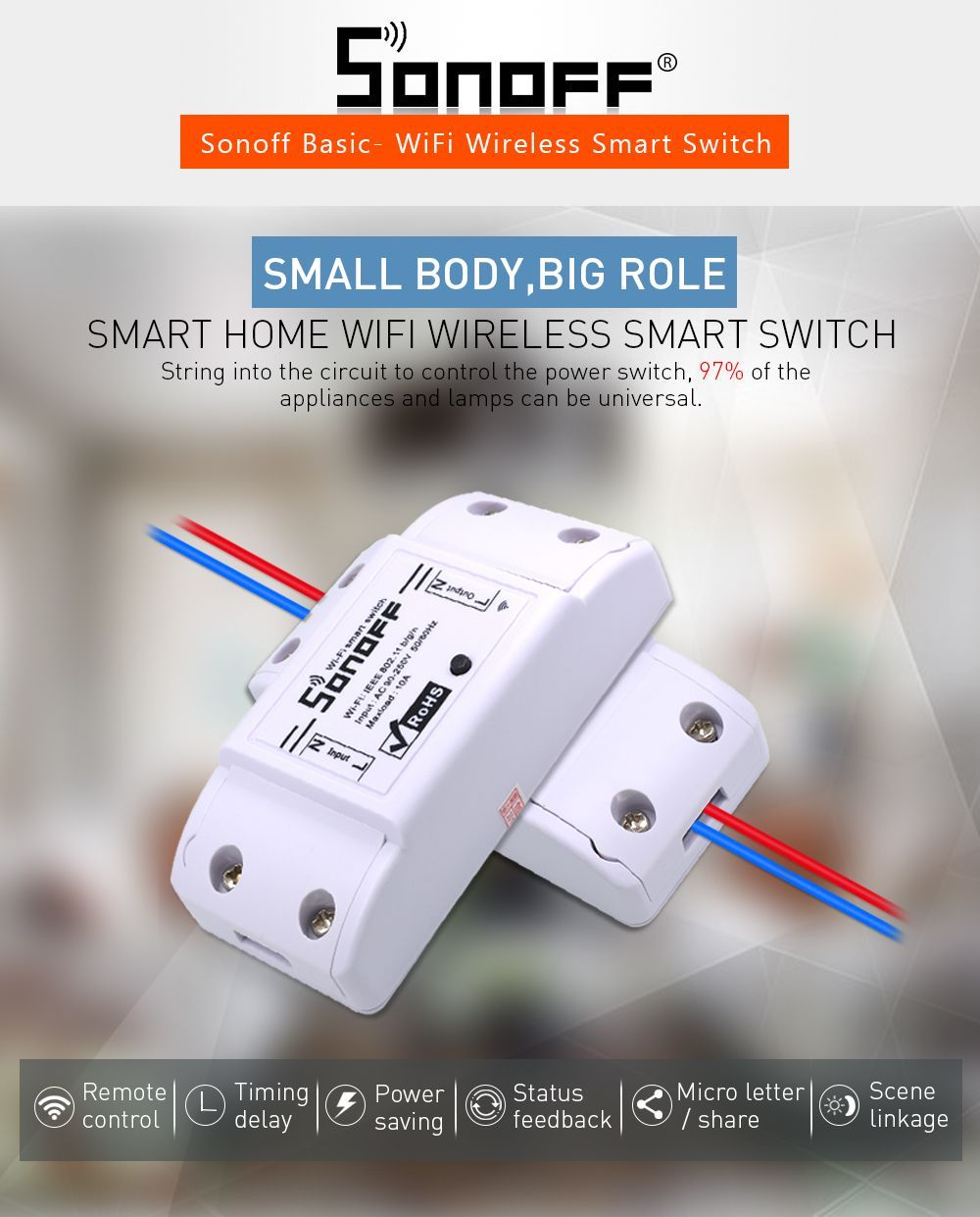 Wifi Switch Diy Wireless Remote Domotica Wireless Wifi Wireless Switch