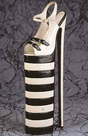 fcb36c3e30d Super-platform heels -- from the world s largest shoe collection at the  Northampton Museum and Art Gallery