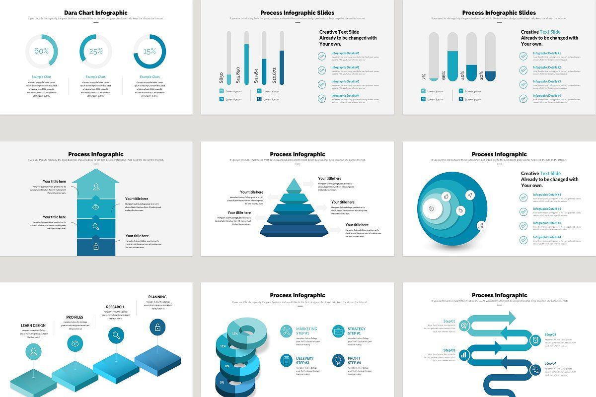 Business Plan Infographic PowerPoint in 2020 Infographic