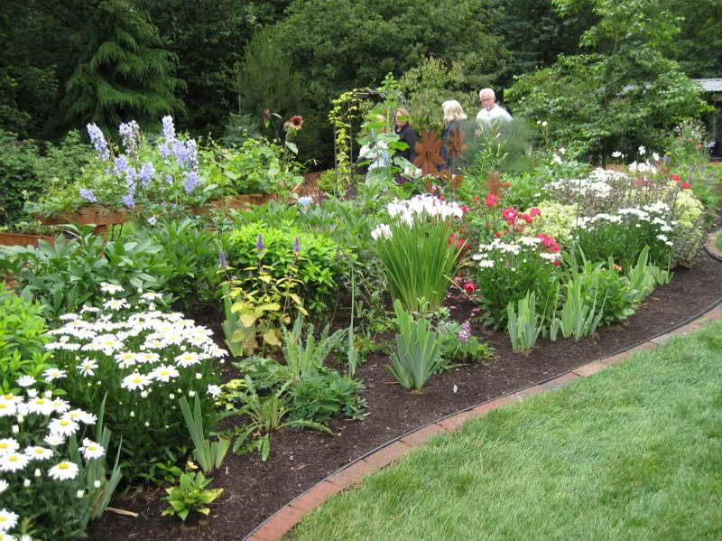 Raised Flower Bed Design Ideas | Is Segment Of Transplanting Irises To Fast  Growing For