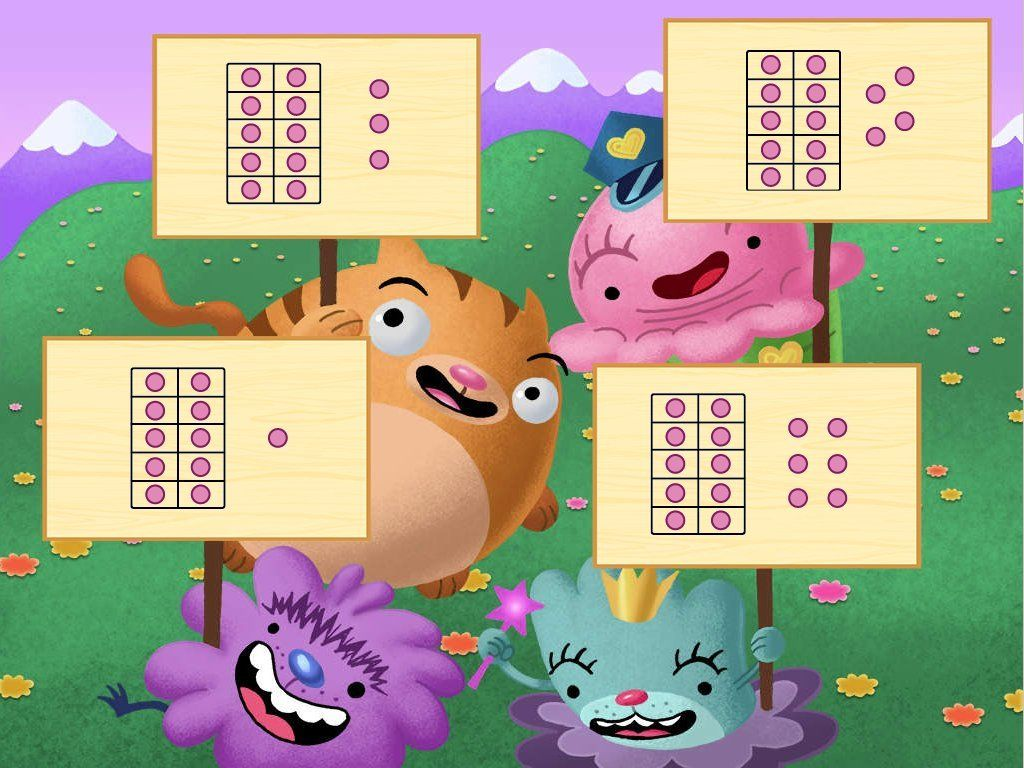 Ten Frames Are A Great Tool For Helping Early Learners
