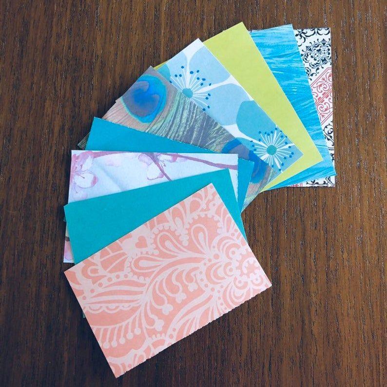 mini envelopes stationary stationaryaddict prettycards