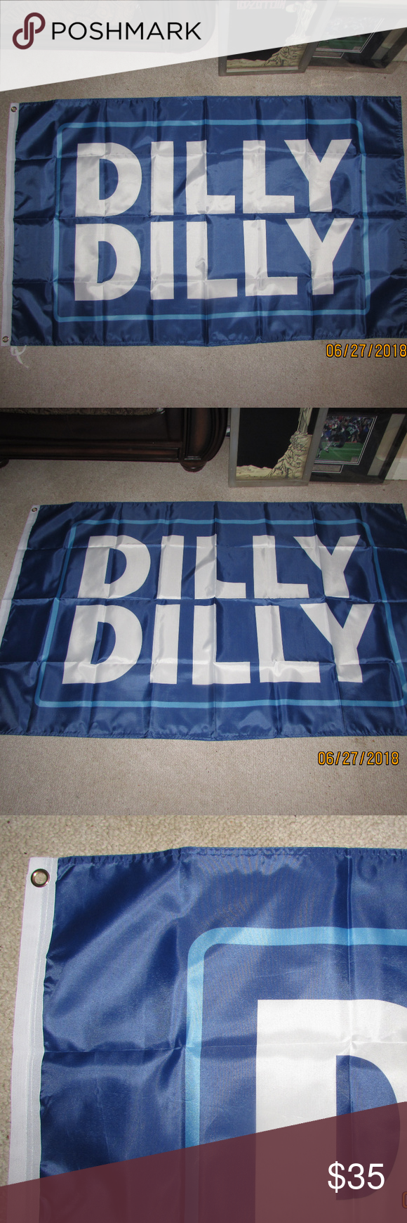 Dilly Dilly 3x5 Feet Flag Banner Bud Beer Misery Nwt