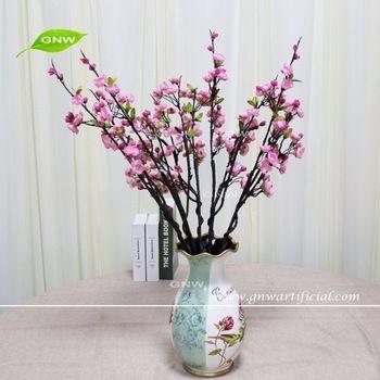 GNW BLB-CH1605020 Wholesale High similation pink plum silk flower for all festival decor