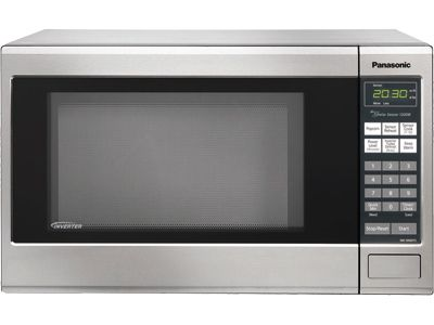 Panasonic Nn Sn661s Family Size 1 2 Cu Ft Countertop Microwave Oven With Inverter Countertop Microwave Oven Countertop Microwave Stainless Steel Microwave