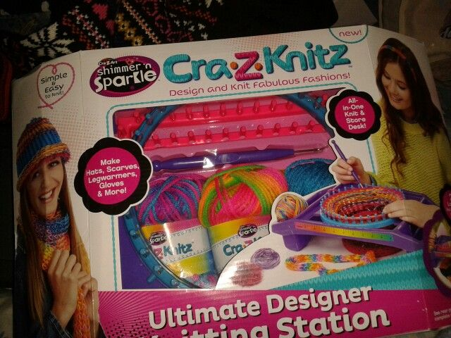 Loom Knit Kit From Argos 29 99 Knitting Kits Loom Knitting