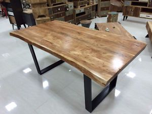 Kijiji Canada Live Edge Wood Table Metal Dining Room Table Natural Wood Table