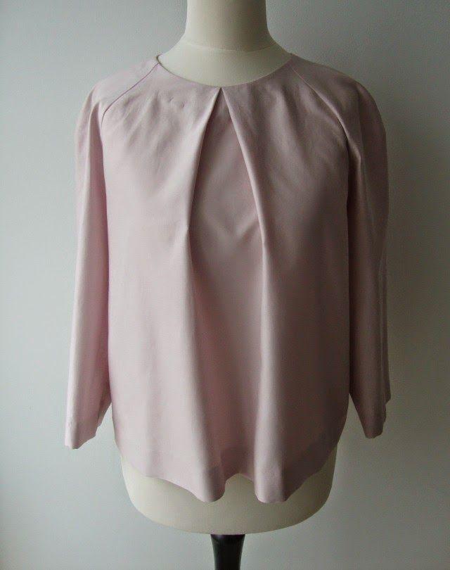 Eine schnelle Bluse für zwischendurch A quick and easy blouse ...