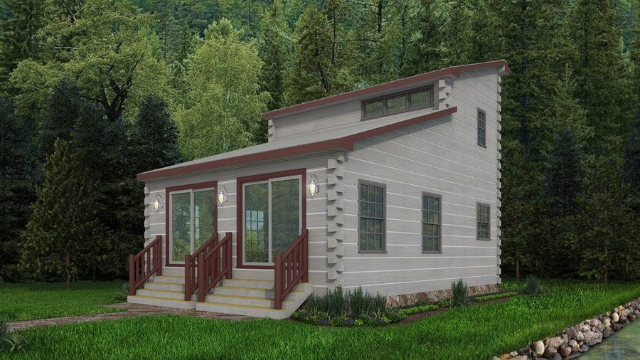 Tiny Log Homes That Are Less Than 1000 Square Feet But Fabulous D 92 Eloghomes Log Cabin Floor Plans Tiny House Plans Bungalow House Design