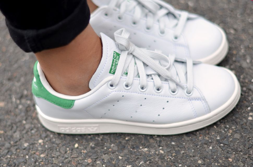 basket adidas stan smith blanche et verte