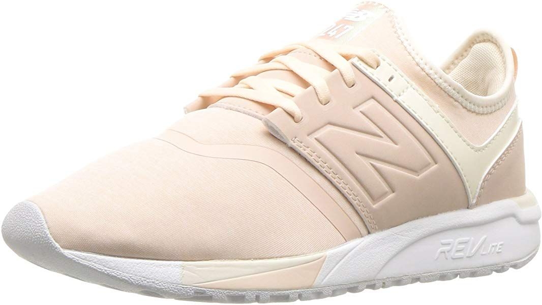 Amazon.com | New Balance Women's 247v1 Sneaker, Cream tan ...
