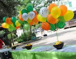 party decoration ideas zoo theme Google Search fiestas
