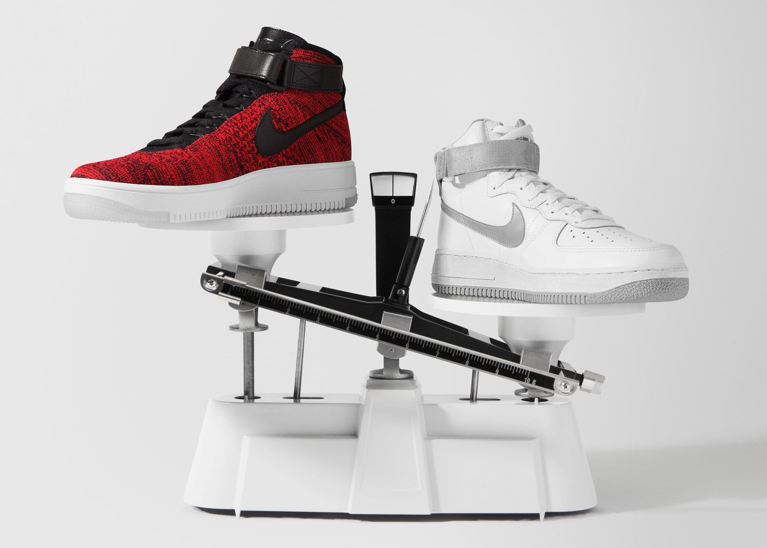 Nike applies Flyknit material to Air Force 1 trainers | My