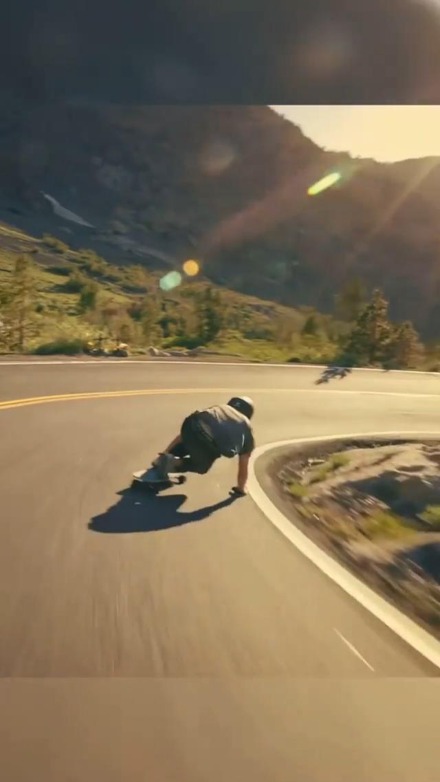 High speed cruising through the Sierras 🛹