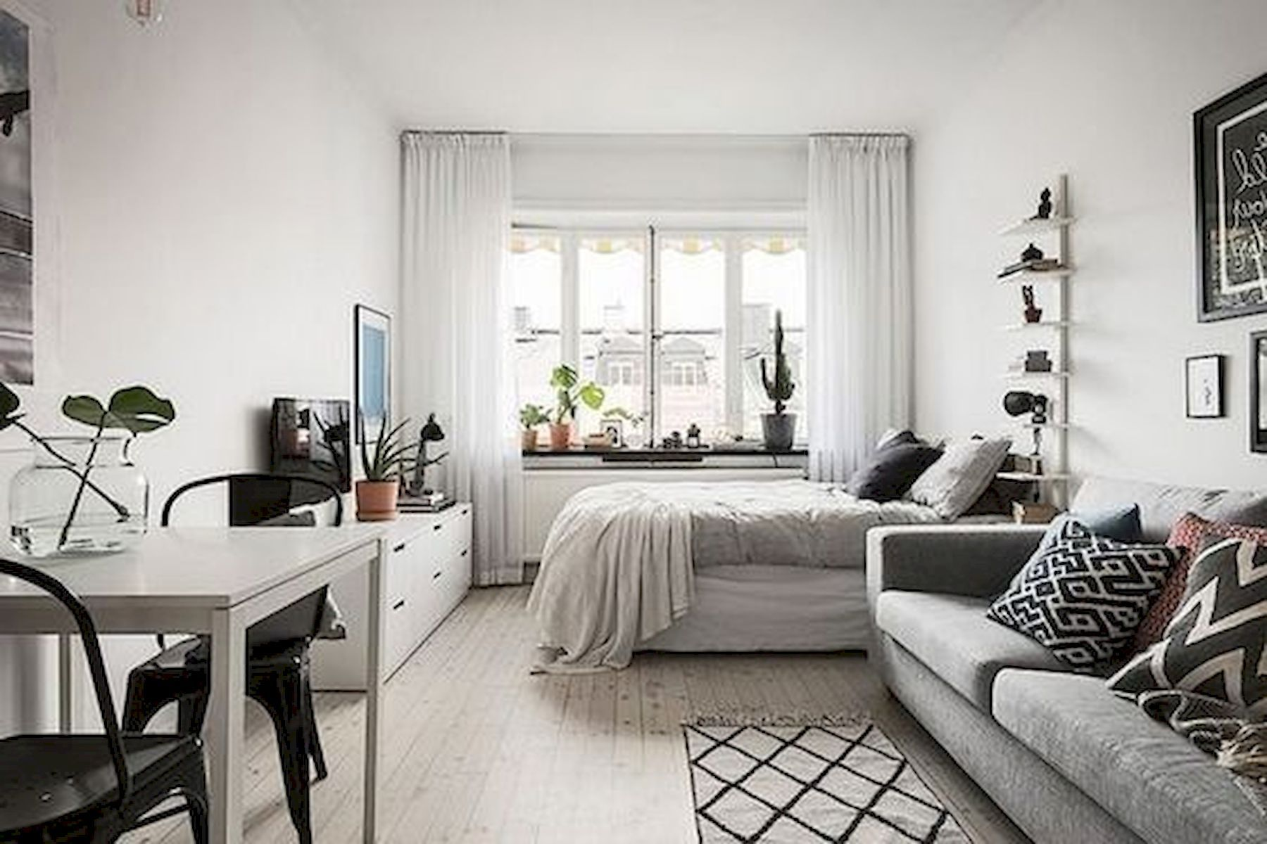 77 Stunning First Apartment Studio Decor Ideas Apartment Layout